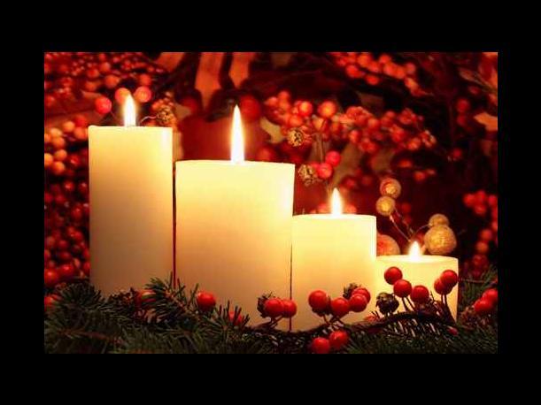 Conjuro con vela blanca